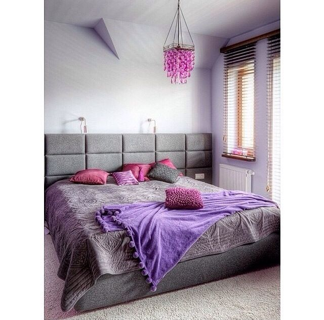 Grey and purple room Cute Room designs Pinterest Purple rooms
