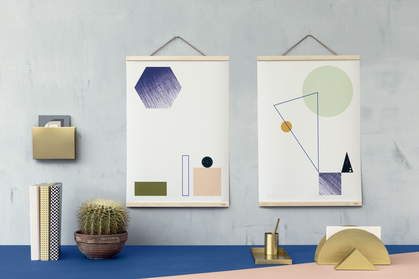 Six fuss-free ways to display art (trip to framing store not required).