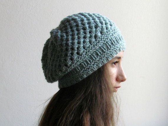 Womens hat Beanie hat Knit hats women Chunky knit hat Beanie womens Slouchy hat Winter hat Alpaca hat woman Crochet hat Colorful beanie