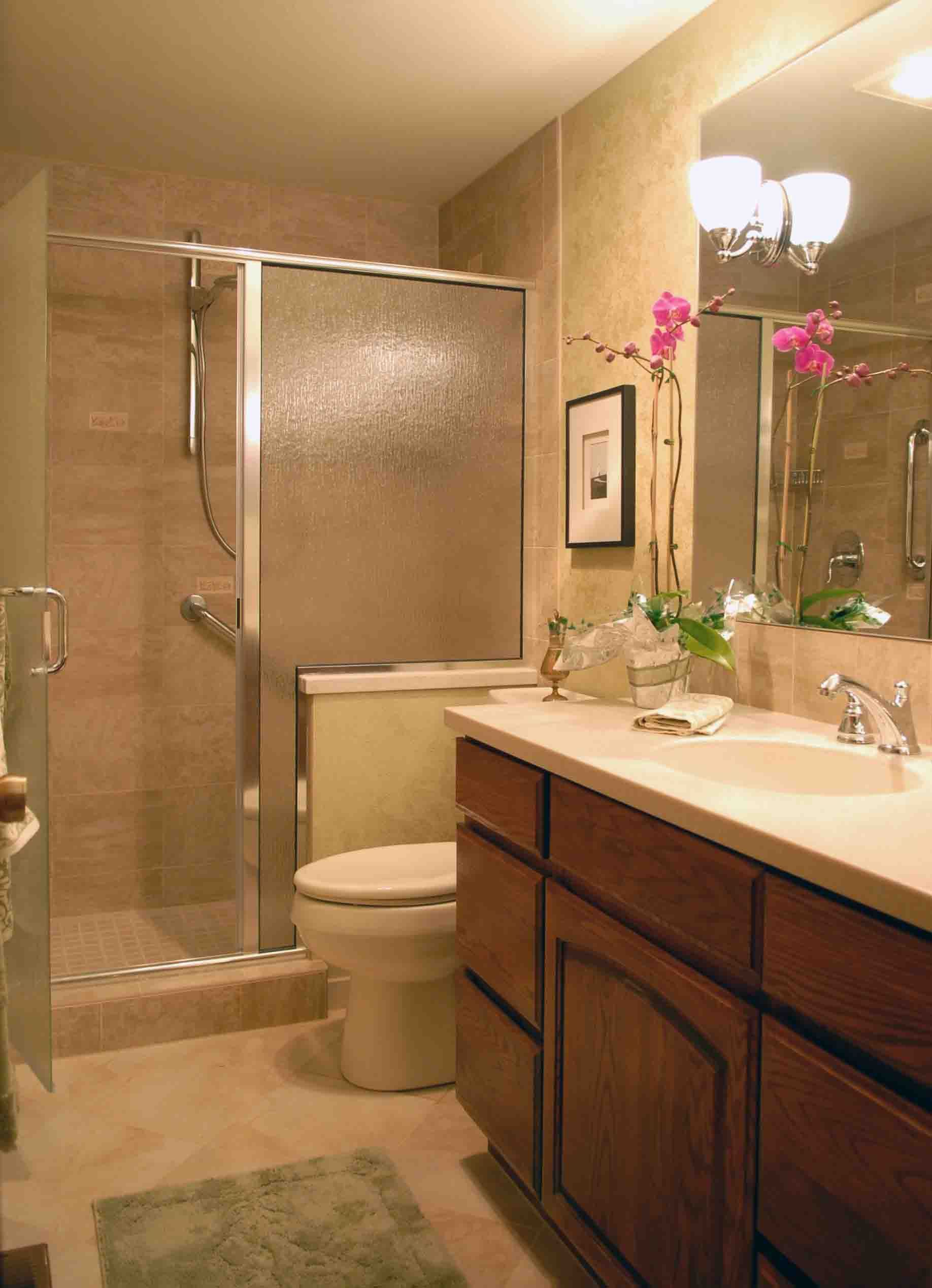 Bathroom remodel mirror ideas | ideas | Pinterest | Small bathroom ...