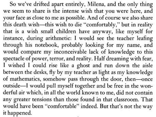 Kafka Letters To Milena
