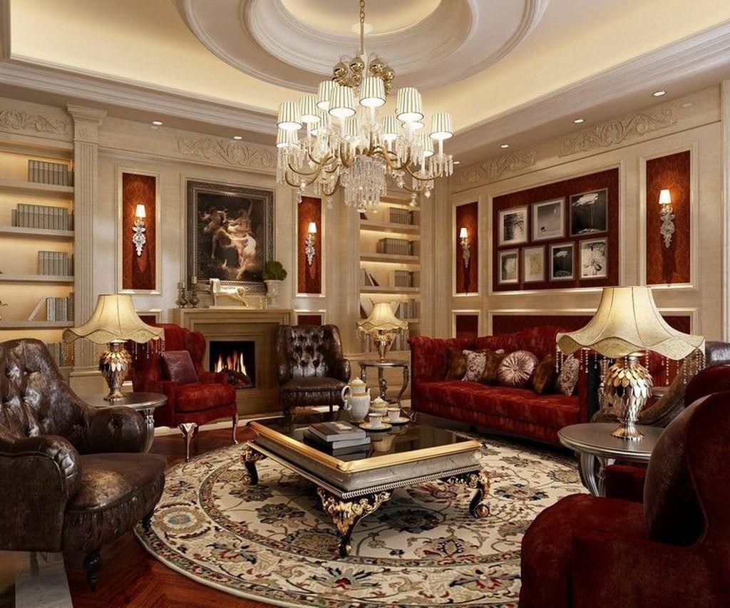 38 Inspiring Classic Living Room Decoration Ideas ...