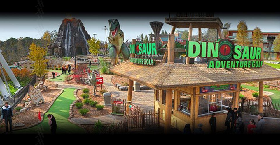 Dinosaur Adventure Mini Golf