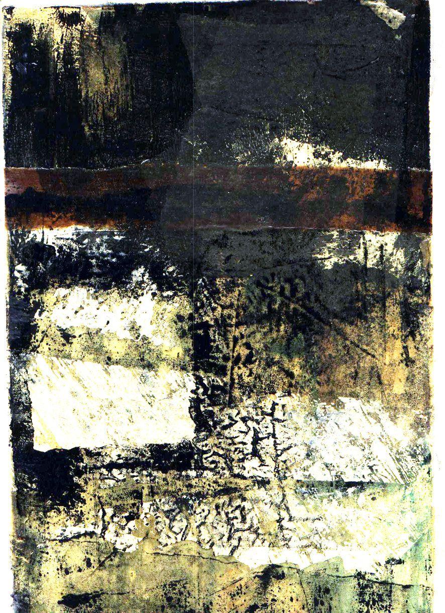 monoprint by Carolynne Coulson