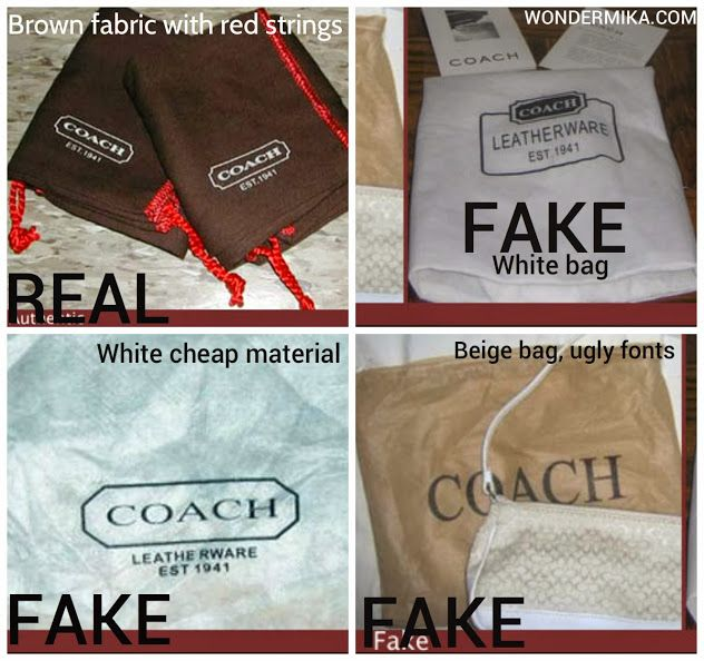 How To Spot A Fake Coach Bag Pictures And Videos Here