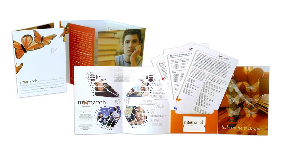 Monarch Ventures Student Housing Corporate Brochure Graphic