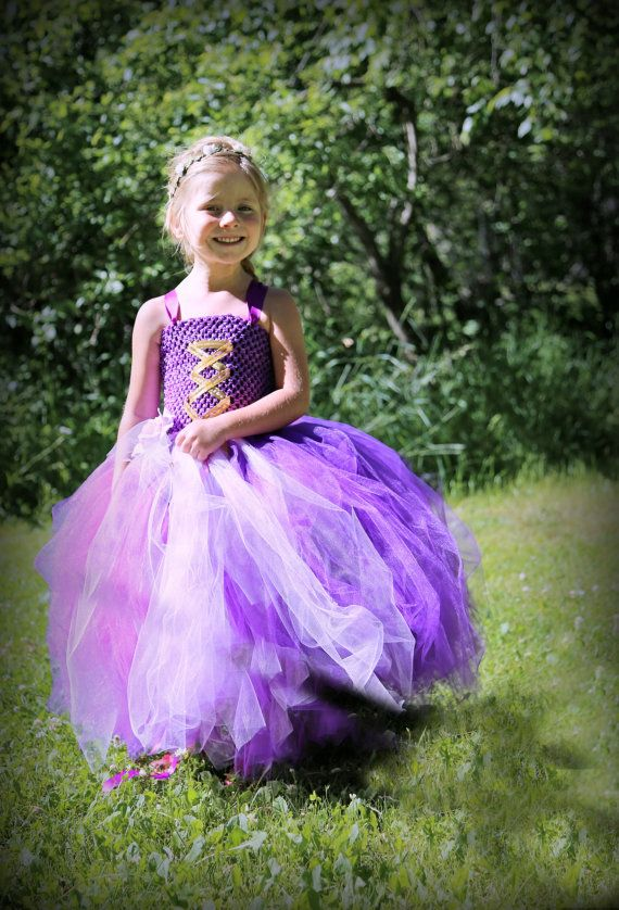 53af83913 Vestido de princesa Rapunzel