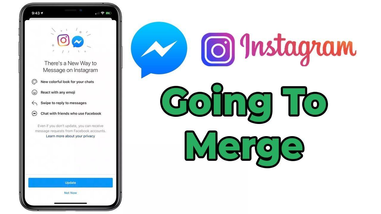 Facebook Merging Messenger And Instagram Chat In A New Update Important Instagram Message Instagram News Update