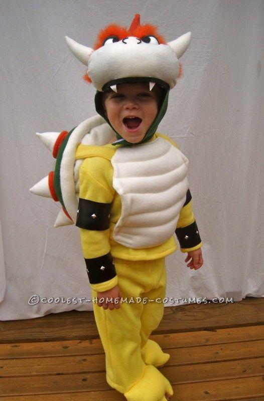 Little Bowser Costume Idea  sc 1 st  Pinterest & Little Bowser Costume with a Big Attitude   Coolest Homemade ...