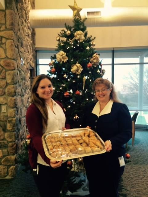 On December 18th our Downingtown office had tasty desserts from Georgio's Restaurant for members!