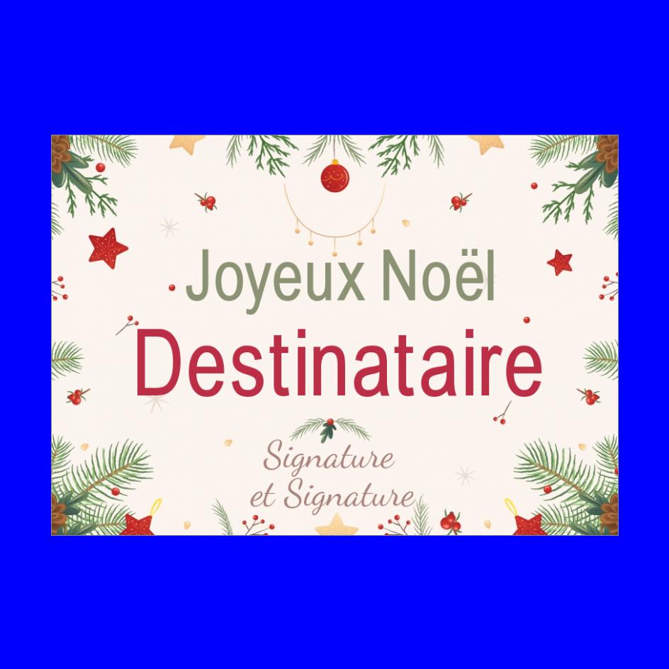 Carte De Vœux Noel A Imprimer Personnalisable Avec Une Liste De Prenom Dessin De Sapin Carte De Voeux Noel Carte De Voeux Carte
