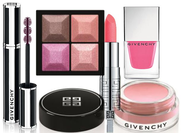 Givenchy Over Rose Makeup Collection for Spring 2014 #makeup #beauty #pink