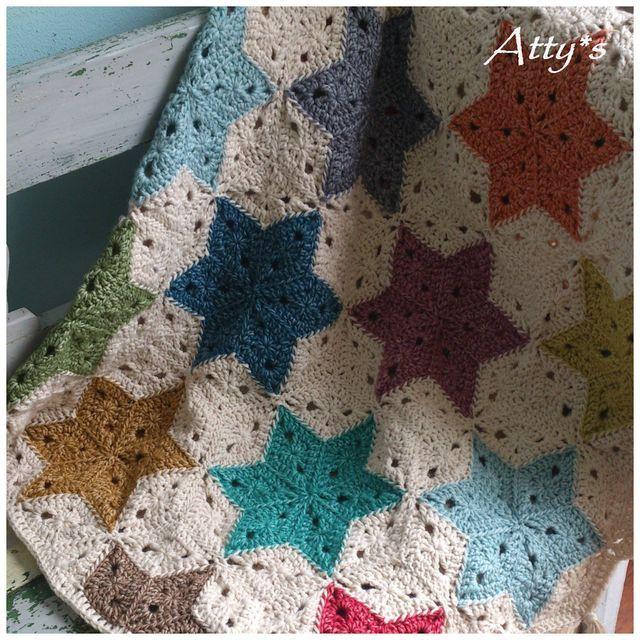 Finished Star Blanket   Atty's   Bloglovin'