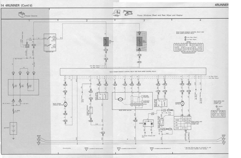 85 Toyota Diesel Truck Parts Diagram And Toyota Surf Wiring Loom Automotive Wiring Schematic Diagram Toyota Hilux Alternator