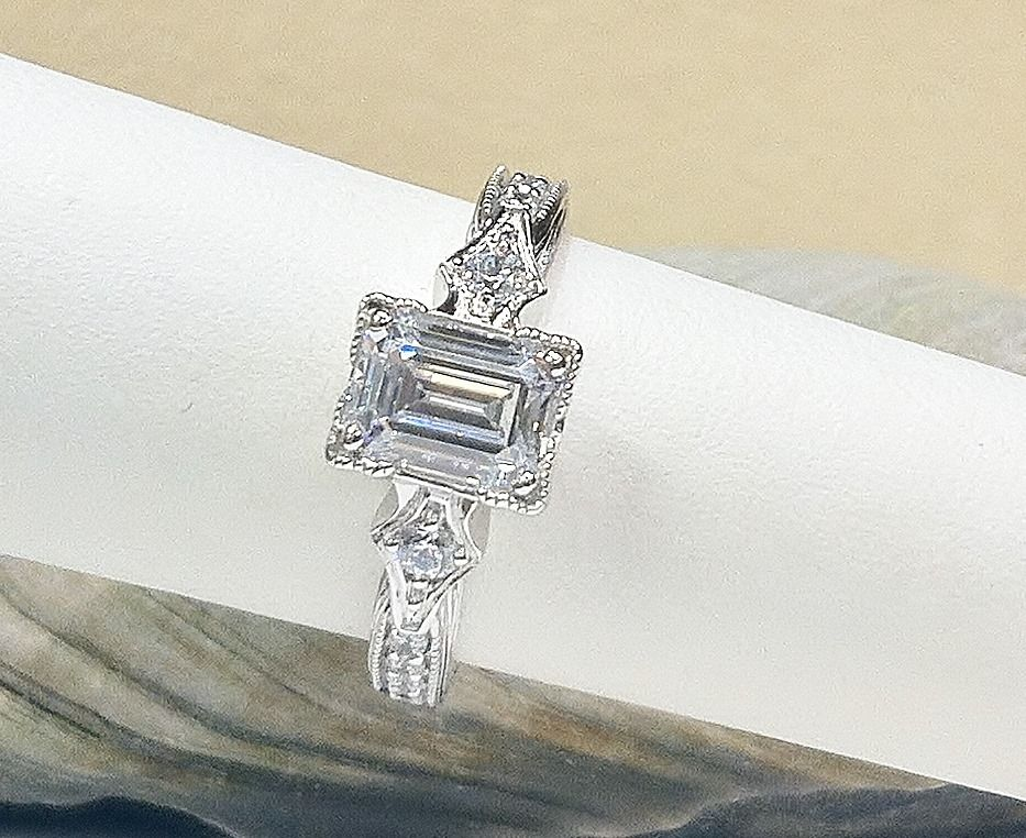 Pin on Custom Engagement Rings