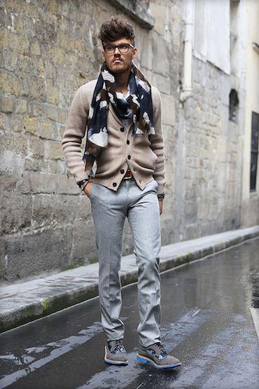 5d3b702bf0c4 Pantalon en flanelle de laine Vitelas Barberis