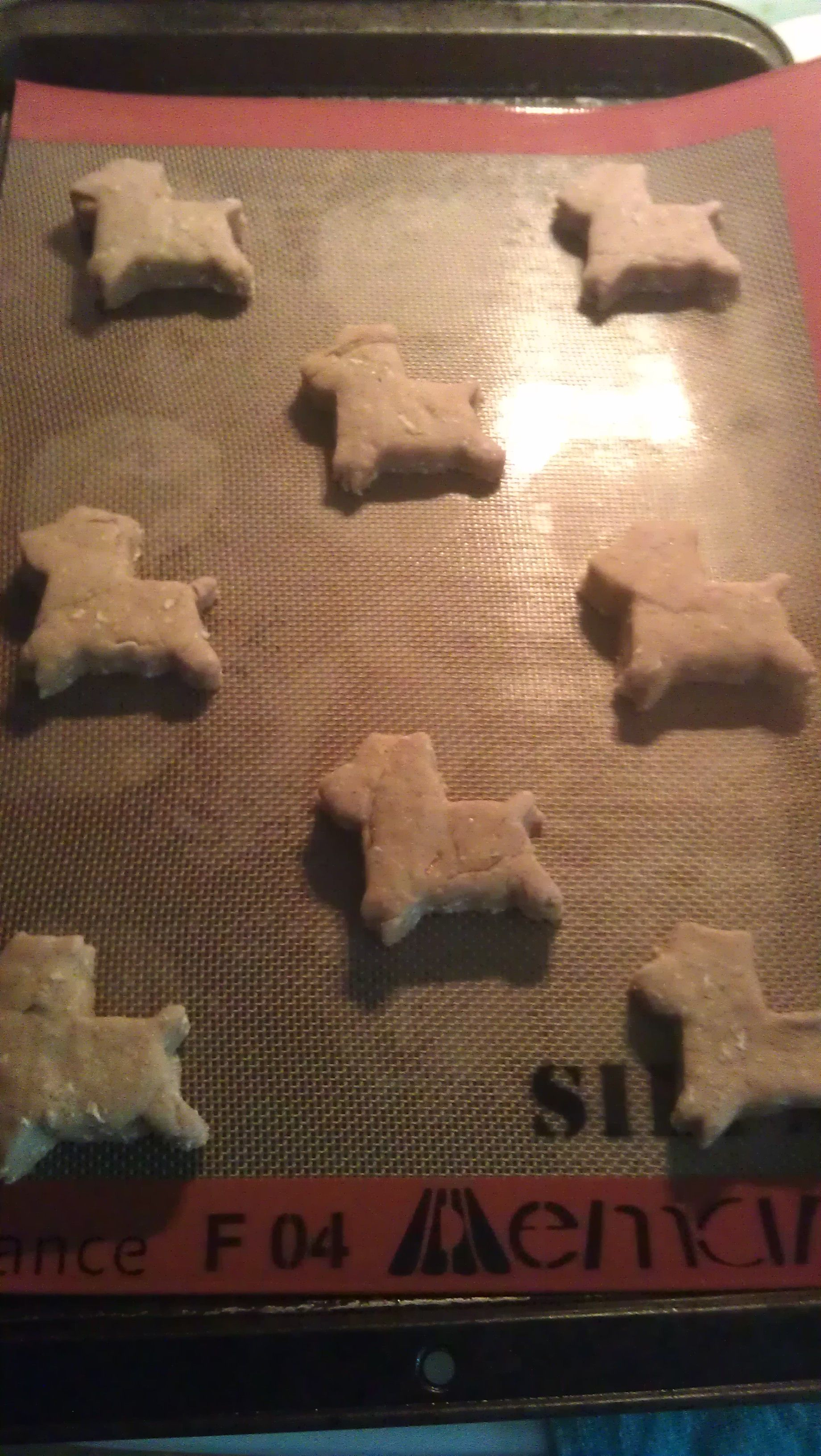 Organic Oat/Bacon Dog Biscuits