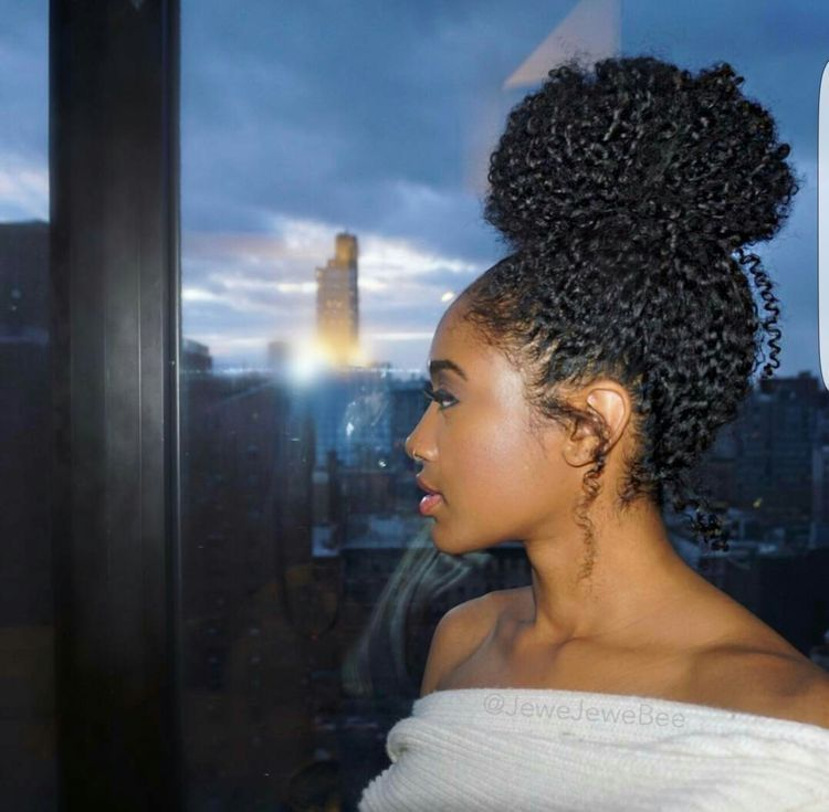Themeanestwitch Natural Hair Bun Styles Natural Hair Styles Curly Hair Styles