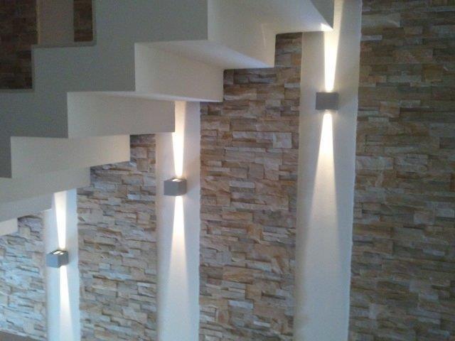 Led scale preferiti pinterest illuminazione casa illuminazione e luci - Led per scale ...