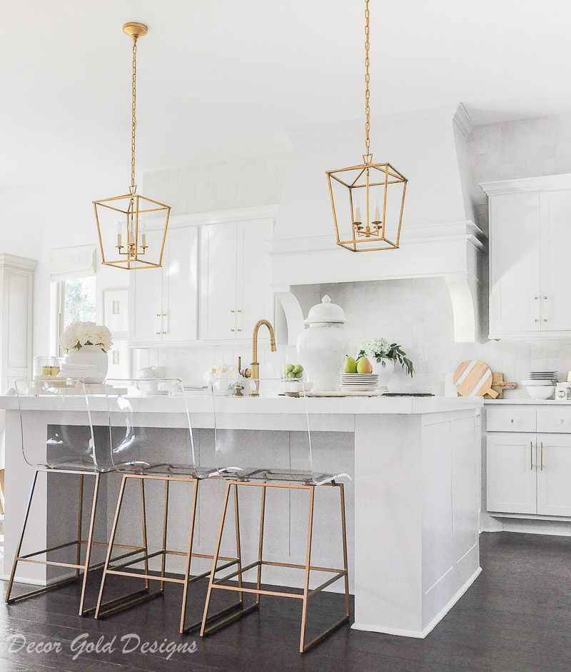 Ideas For Kitchen Counter Styling Decor Gold Designs Kitchen Countertop Decor Kitchen Island Decor Countertop Decor