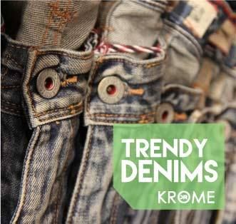 Food. Water. Denim. Lets get back to essential, get some super cool denims at KROME. #Krome #DenimLove