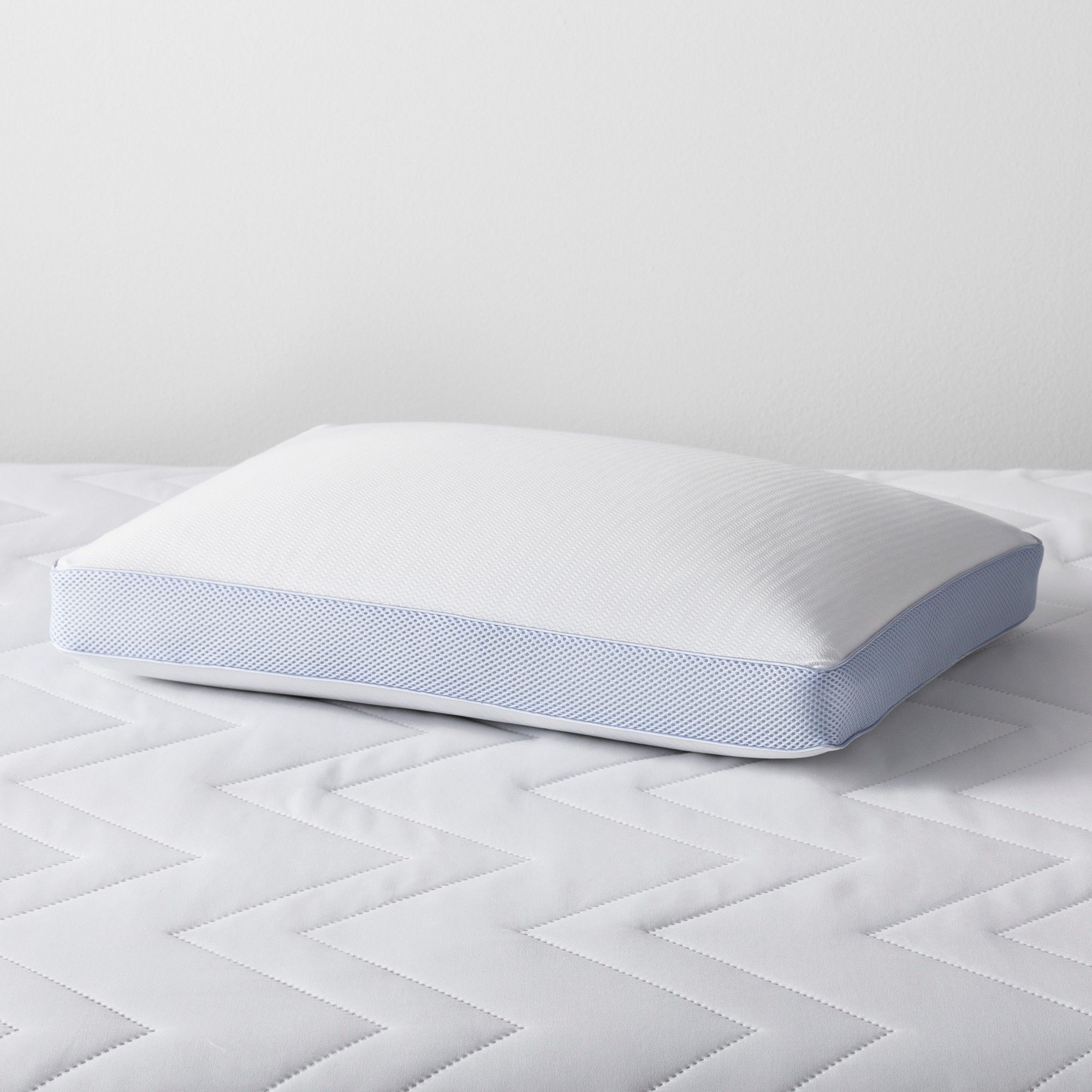 Cooling Memory Foam Pillow Standard Queen Made By Design Blue
