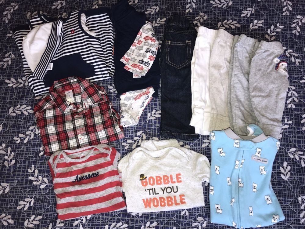 a93e09c261c2 6 month baby boy Carters lot Fall/Winter Thanksgiving/Christmas #fashion # clothing #shoes #accessories #babytoddlerclothing #boysclothingnewborn5t  (ebay ...