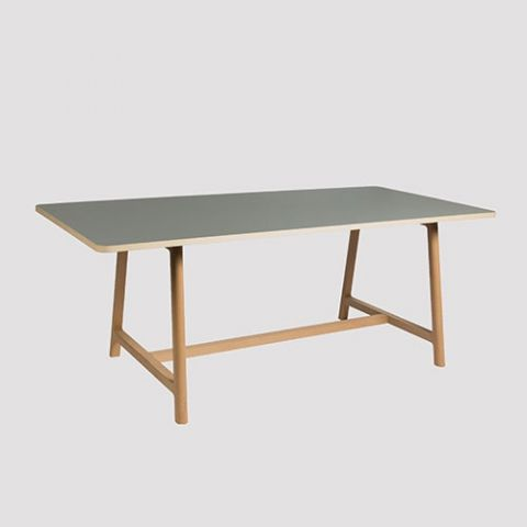 Design Curiosity Hay Frame Table Furniture Solid Wood Dining Table