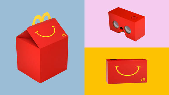 Mcdonald S Transforms Happy Meal Boxes Into Vr Goggles Happy Meal Box Happy Meal Mcdonalds Happy Meal