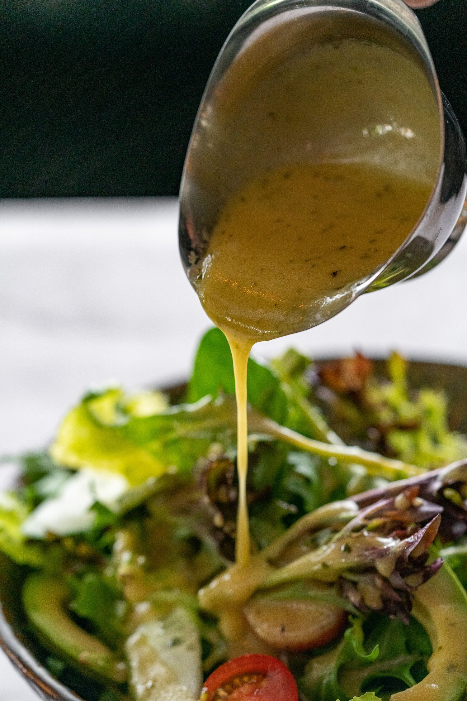 Ps Recipe Truffle White Wine Vinaigrette Ps Cafe Olive Oil Salad Dressing Recipe Salad Dressing Recipes Recipes [ 2249 x 1500 Pixel ]