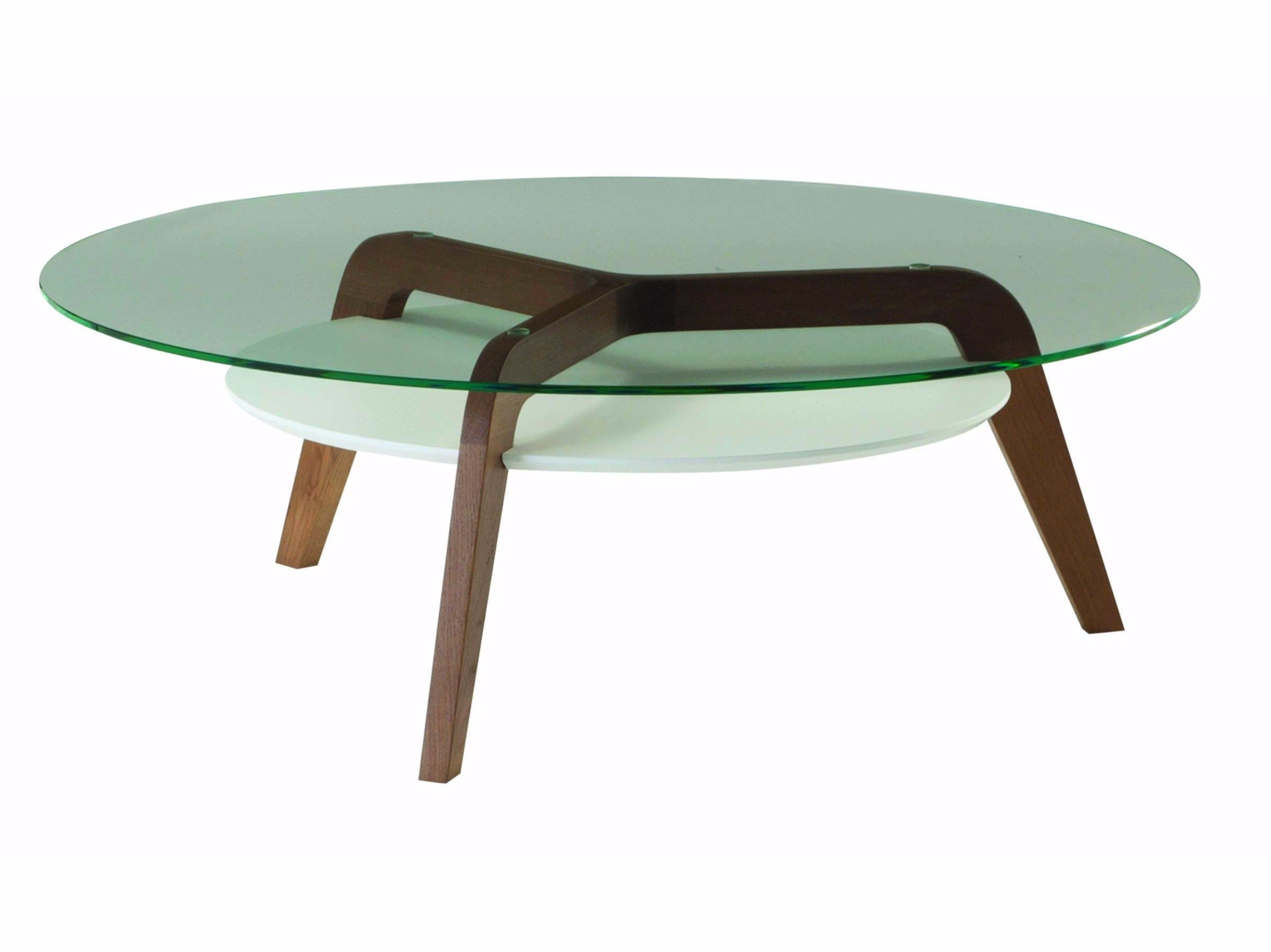 Round Glass Coffee Table For Living Room Flying Glass By Roche Bobois Design Sacha Lakic Round Glass Coffee Table Coffee Table Glass Coffee Table [ 1800 x 2401 Pixel ]