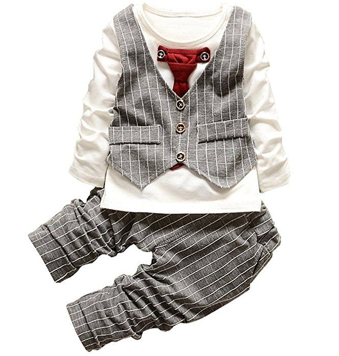 Denim Pants Set Jeans Suit Boys Clothes SHOBDW Childrens Toddler Kids Baby Boy Fashion Short Sleeve Crown Pattern Shirt Tops