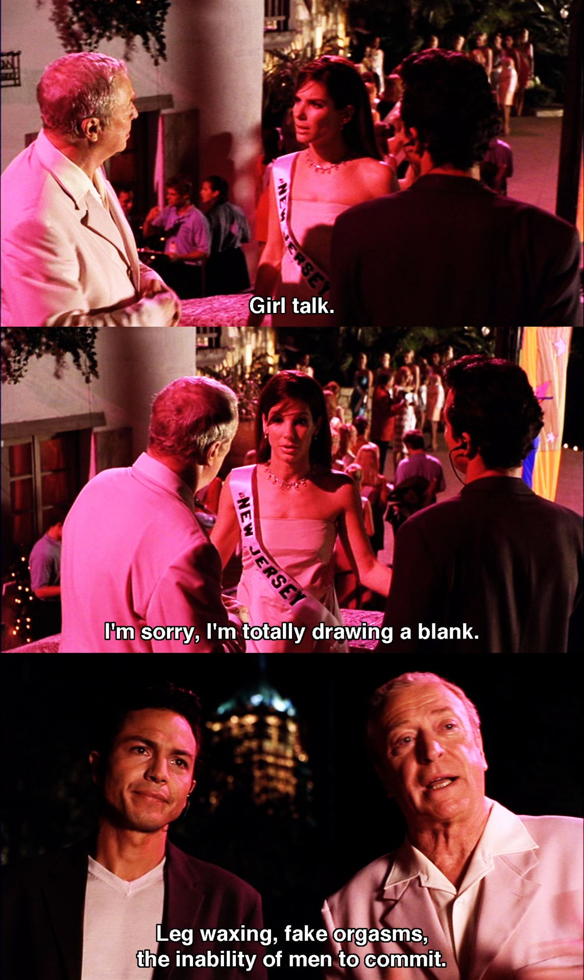 Girl talk ~ Miss Congeniality (2000) ~ Movie Quotes ...
