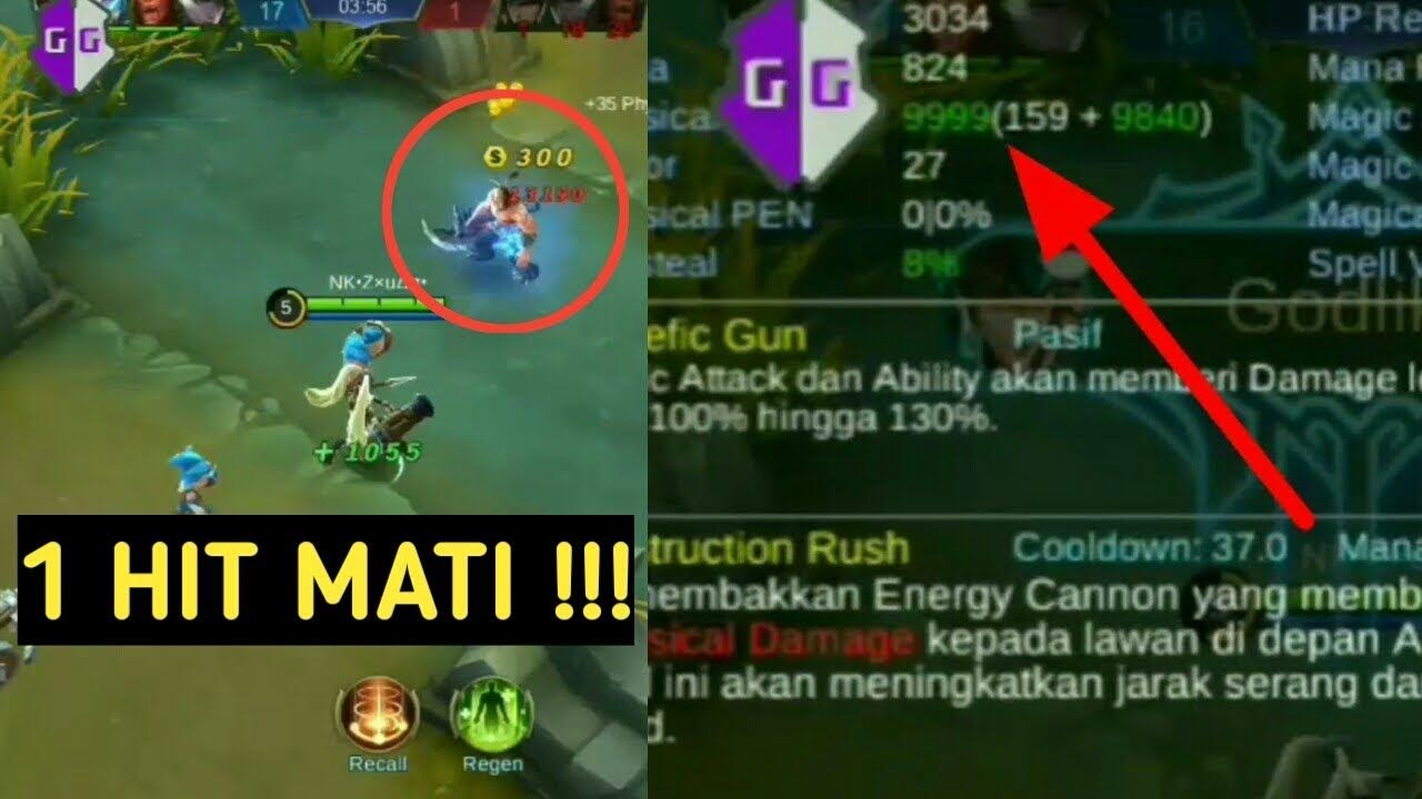 download cheat damage mobile legend no root