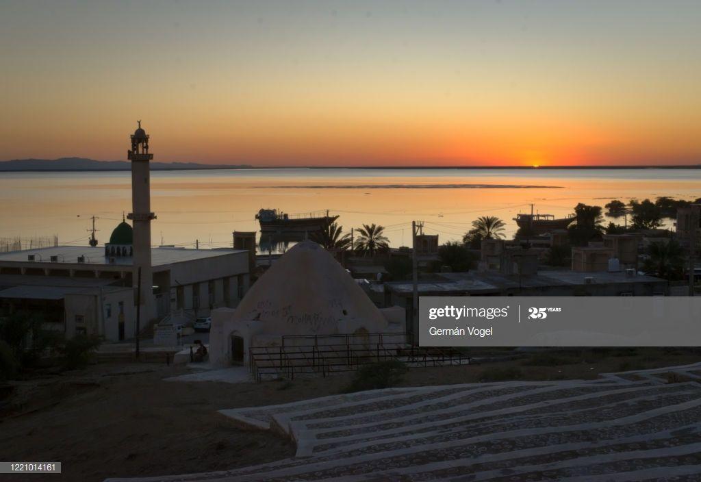 Peaceful Sunset In Bandarelaft Village Of Qeshm Island Persian Gulf Iran Photogr #Ad, , #SPONSORED, #Village, #Qeshm, #Bandarelaft, #Peaceful