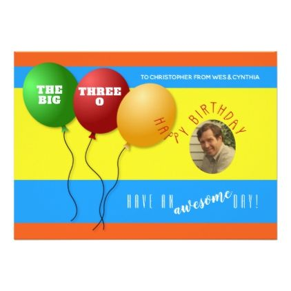 Add A Photo To Colorful Birthday Card Colorful Birthday
