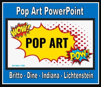 Pop Art 4 Artists PowerPoint in 2020 Pop art, Painting