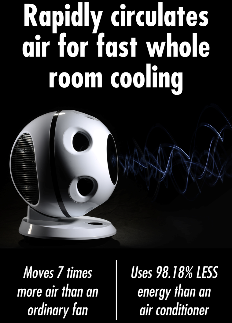 Description Save Money On Cooling Bills With Whole Room Cooling The Edenpure 360 Air Fan Is A Bladeless Fan That
