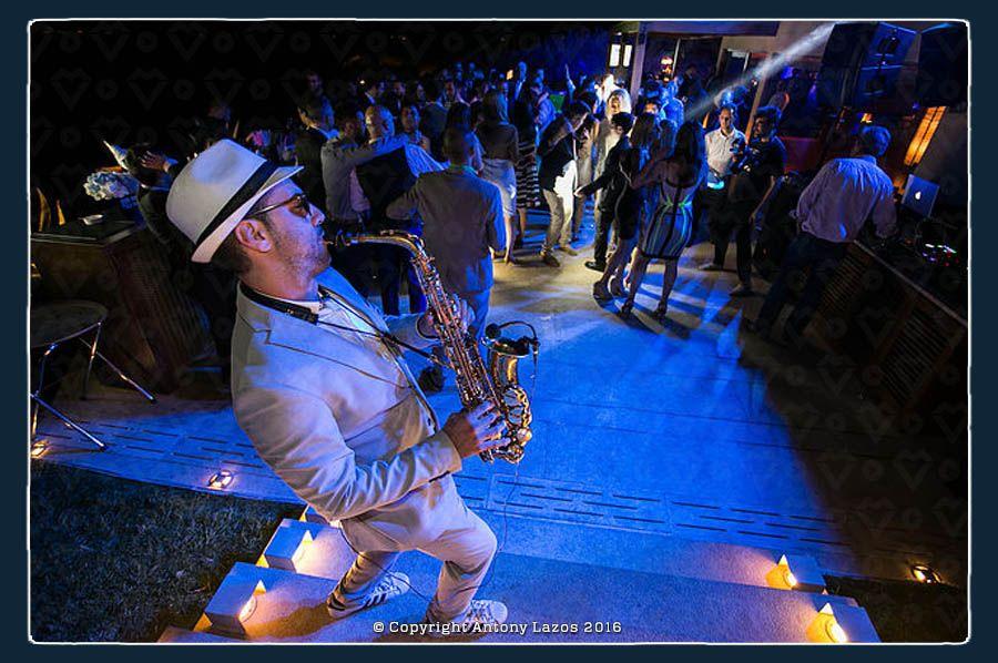 Antony Lazos | Saxophonist for Weddings in Paros, Mykonos, Santorini and all over Greece