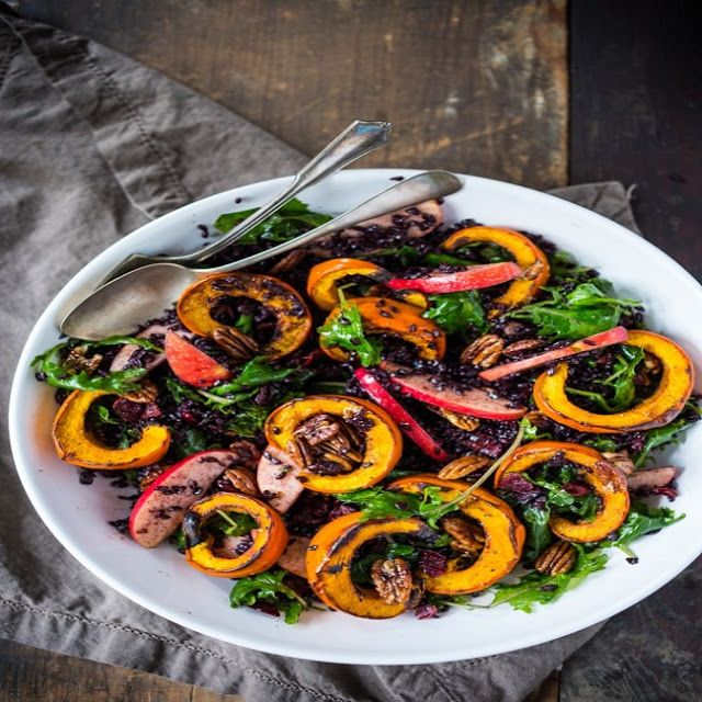 Roasted Pumpkin and Kale Salad-Healthy Food Recipes | Healthy Food Recipes-A Complete Blog For All Recipes