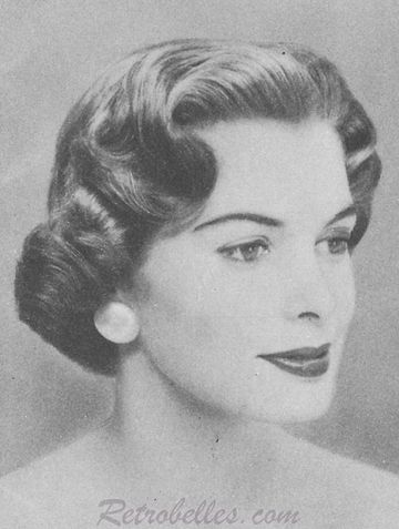 Awesome 1000 Images About Fifties Hair Styles On Pinterest 1950S Short Hairstyles For Black Women Fulllsitofus