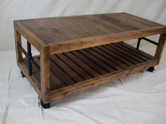 Industrial Coffee Table Shipping Crates Crates And Nautical Interior - Shipping crate coffee table