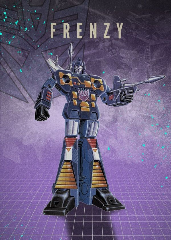 """Transformers Decepticons Frenzy #Displate explore Pinterest""""> #Displate artwork by artist """"Rykker o7"""". Part of…   Displate thumbnail"""