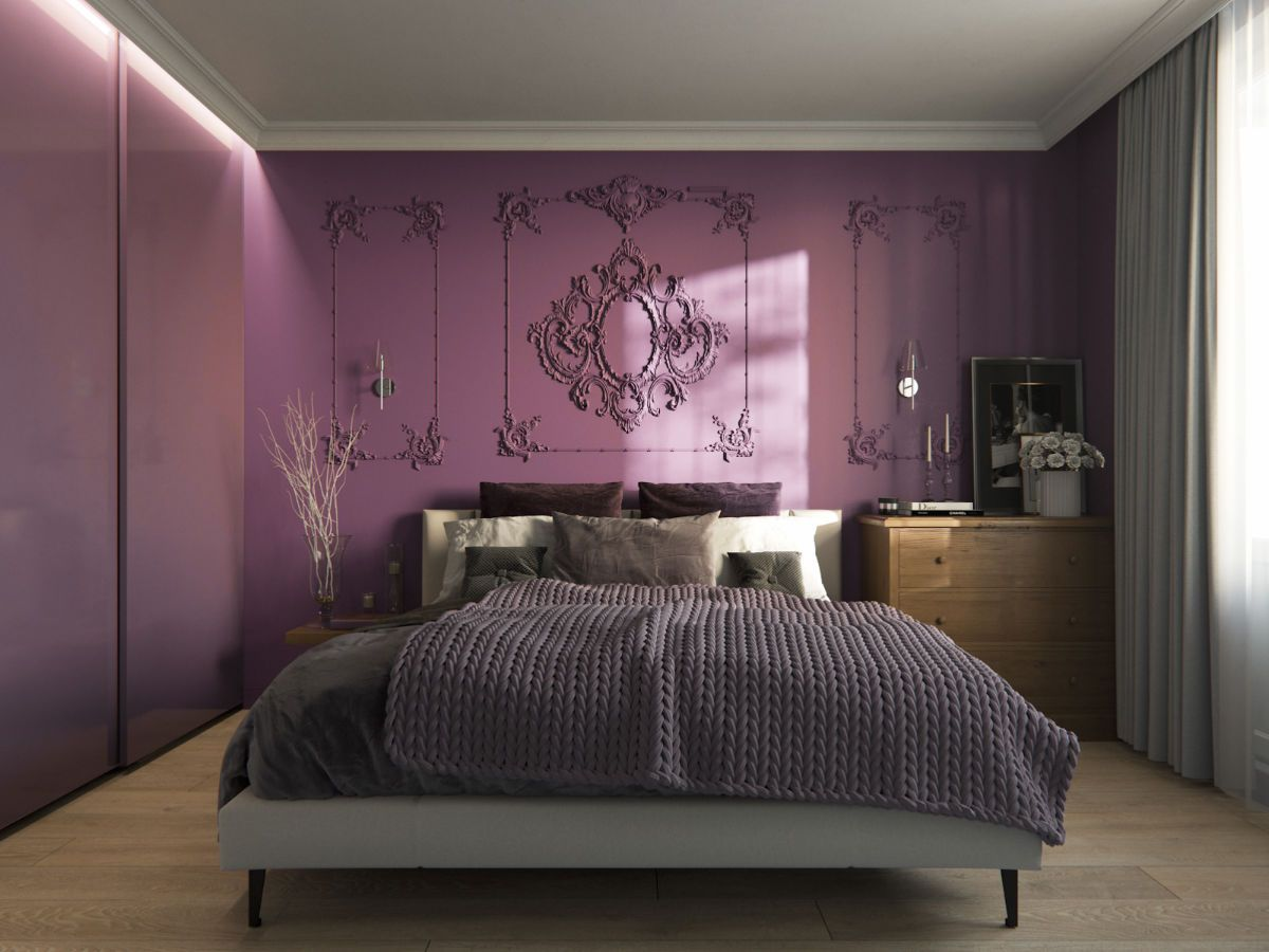 33 Purple Themed Bedrooms With Ideas, Tips & Accessories ...