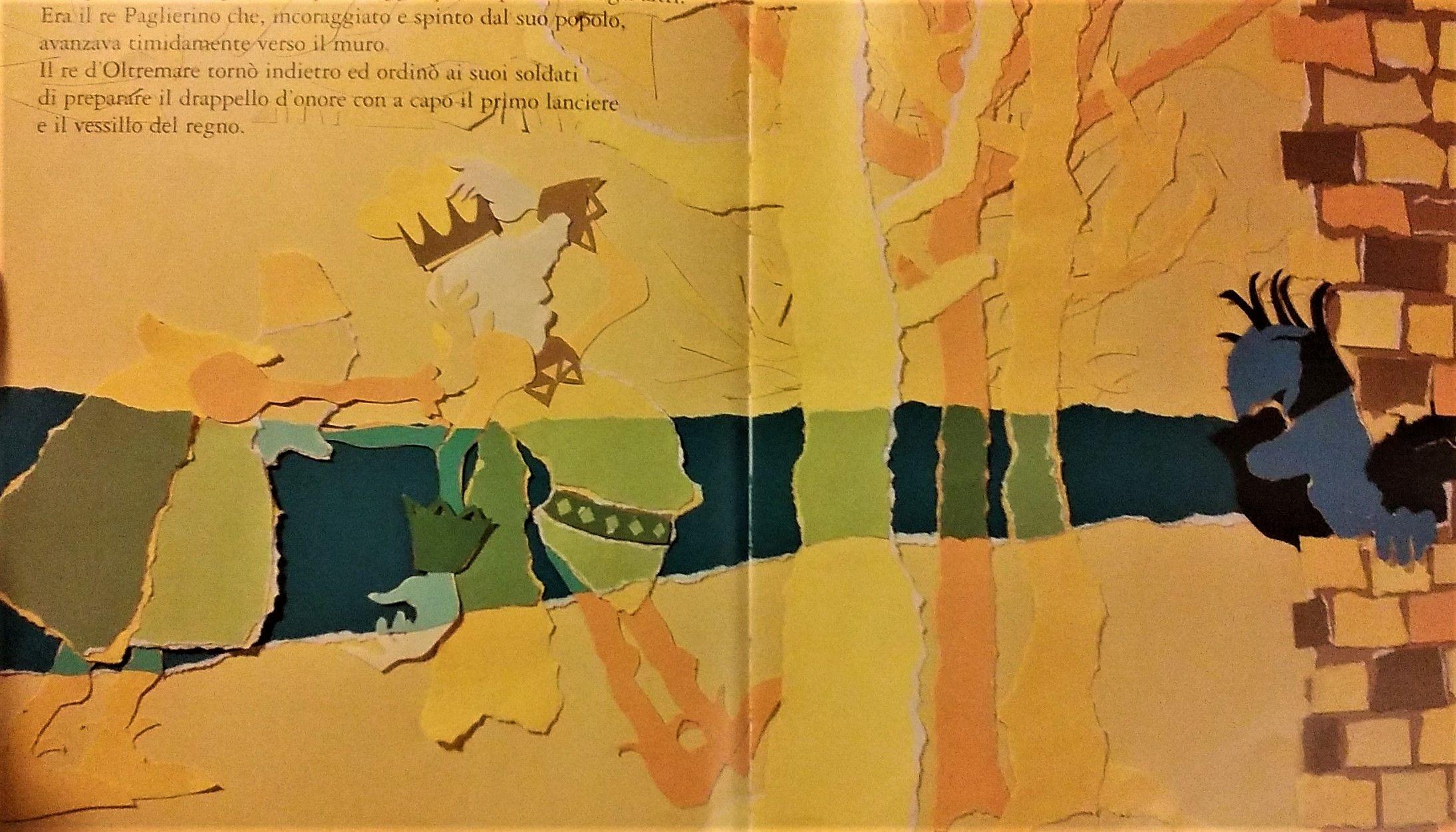 """il regno Zafferano in """"Il Paese dei colori"""" di Paolo Marabotto"""
