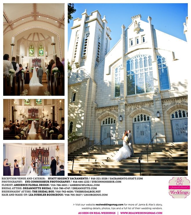 Sacramento Weddings: Real Weddings Wednesday {Jamie & Alex