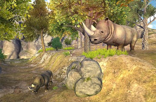 rhino simulation<p>This is an adventure ride of a rhino with this Rhino Simulator game. Rhino has run from the zoo and is out there in the city.  Rhino is attacking and kicking up all the things. Rhino has destroyed the cars, kicked off the boxes and has broken out the barriers. This game combines elements of rampage style games with adventure games.<p>Features<br>-- Control a HUGE 3D Rhinoceros!<br>-- Fast and Action Packed Simulator Gameplay<br>-- Fun joystick simulator controls to make…