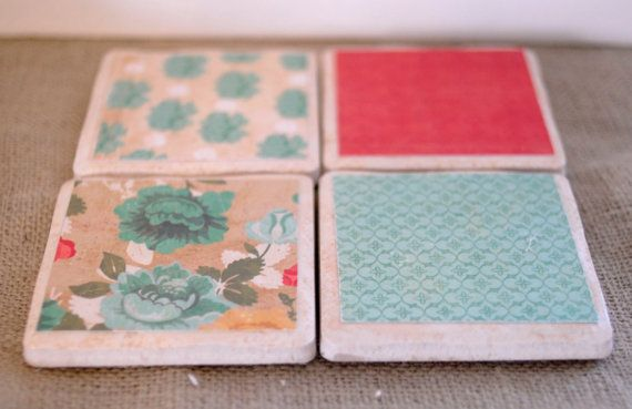 Buy Some Tile At Habitat For Humanity Restore And Decorate With Fabric Scraps Diy And Crafts Sewing Diy Rug Crafts