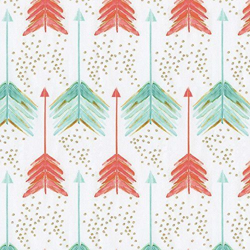 """Product review for Carousel Designs Coral and Teal Arrows Cradle Sheet.  - Cradle sheet in Coral and Teal Arrows. Our fitted cradle sheets feature deep pockets to hug mattress securely. Fits standard cradle mattresses, measuring approximately 18"""" x 36"""".       Famous Words of Inspiration...""""Labor to keep alive in your breast that little....  Continue reading at  http://bit.ly/2Bp1YW7"""