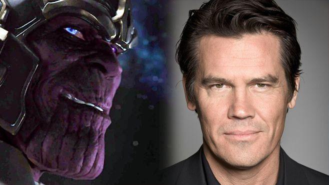 Josh Brolin Cast As Thanos For Guardians Of The Galaxy Josh Brolin Guardians Of The Galaxy Galaxy Makeup